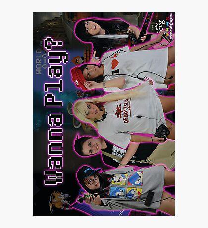 "JCVG 2011 ""Girls Wanna Play"" Poster Photographic Print"