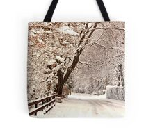 Ruff Lane - Snow Scene Tote Bag