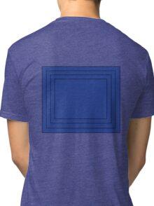 Blue Squares Tri-blend T-Shirt