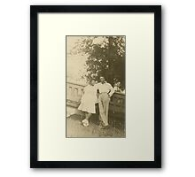 Young Lovers Framed Print