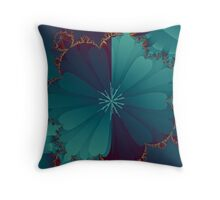 Blooming Mandel Throw Pillow