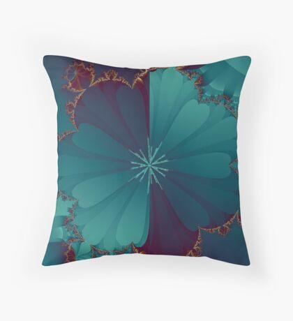 Blooming Mandel Throw Pillow