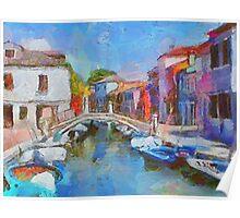 Venice Scenes Poster