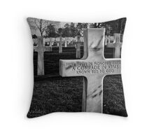 Honored Glory Throw Pillow
