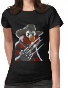 Nightmare on Sesame Street Womens Fitted T-Shirt