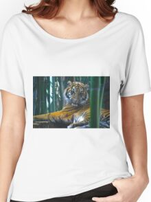 Tiger, Tiger Women's Relaxed Fit T-Shirt