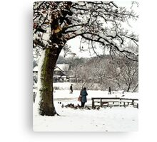 Coronation Park Ormskirk Canvas Print
