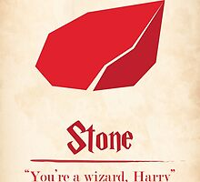 Harry Potter and the Sorcerer's Stone Print by PagingVeronica