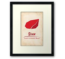 Harry Potter and the Sorcerer's Stone Print Framed Print