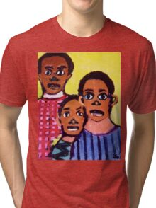 Different Drums  T-Shirt & Sticker by Joshua D. W. Broomfield Tri-blend T-Shirt