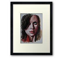 Cassidy Freeman, featured in Virtual Museum Framed Print