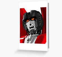 Starscream Greeting Card