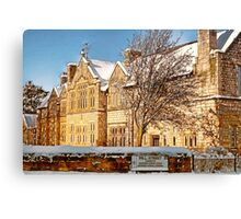 Old Grammar School - Ormskirk Canvas Print