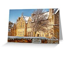 Old Grammar School - Ormskirk Greeting Card