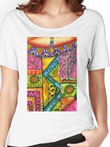 Drumland T-Shirt Women's Relaxed Fit T-Shirt