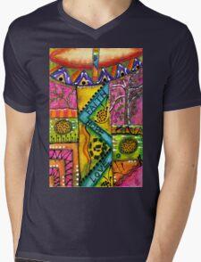 Drumland T-Shirt Mens V-Neck T-Shirt