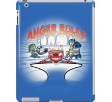Anger rules iPad Case/Skin