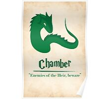 Harry Potter and the Chamber of Secrets Print Poster