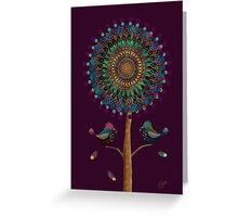 The Mandala Tree Greeting Card