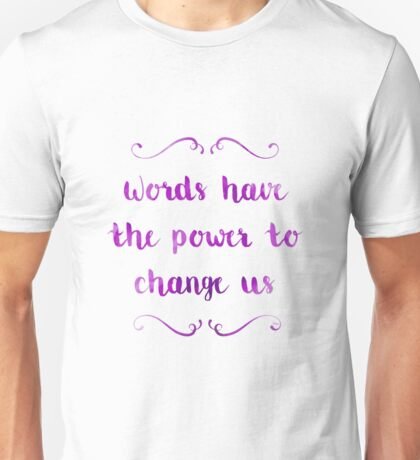 The Infernal Devices Quote 2 Unisex T-Shirt