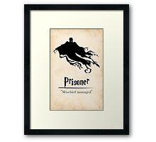 Harry Potter and the Prisoner of Azkaban Print Framed Print