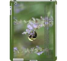 The Lord hear thee in the day of trouble iPad Case/Skin