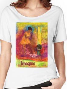 Imagine Winning T-Shirt Women's Relaxed Fit T-Shirt