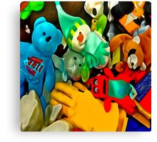 Toys & Stuff #5 Canvas Print