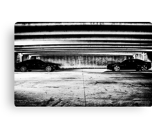 American Standoff Canvas Print