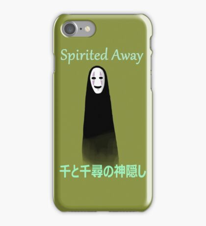 Noface - Spirited Away - (Designs4You) iPhone Case/Skin