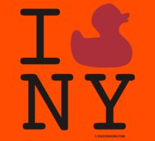 I Duck NY Kids Tee