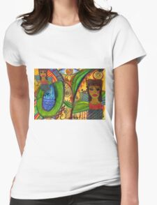 Love Angels T-Shirt Womens Fitted T-Shirt