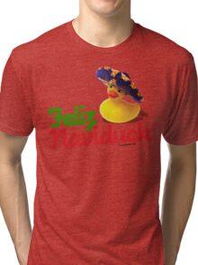 Feliz Naviduck Tri-blend T-Shirt