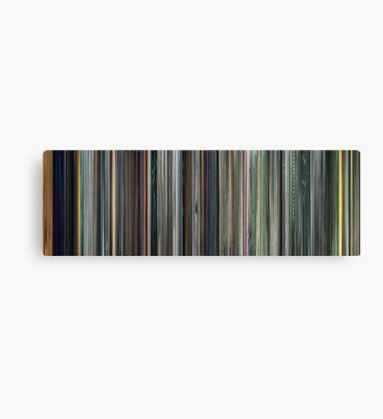 Moviebarcode: The Complete Animatrix (2003) Canvas Print