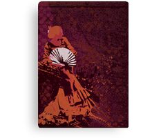 Techno Flamenco - Ambient house Canvas Print