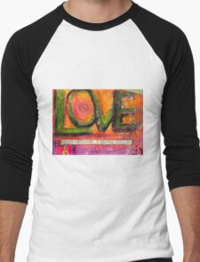 Love in All Its Dimensions T-Shirt Men's Baseball ¾ T-Shirt