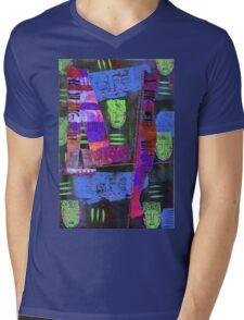My Life Is Blue T-Shirt Mens V-Neck T-Shirt