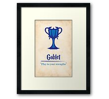 Harry Potter and the Goblet of Fire Print Framed Print