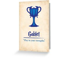 Harry Potter and the Goblet of Fire Print Greeting Card