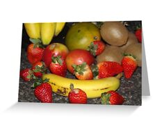 FRUITFUL DAY Greeting Card