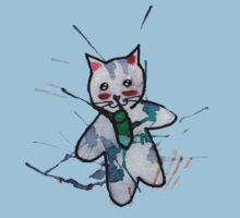 Cute Little Kitten One Piece - Short Sleeve