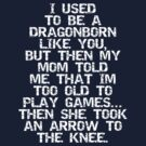 I used to be a Dragonborn by ashedgreg
