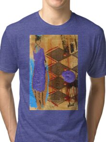 Purple Dress T-Shirt Tri-blend T-Shirt