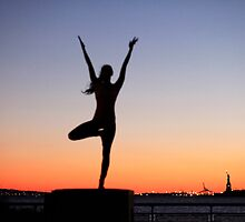 Yoga in New York Calendar by Wari Om  Yoga Photography