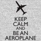 Keep Calm and be an aeroplane by flaminska