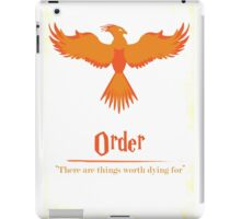 Harry Potter and the Order of the Phoenix Print iPad Case/Skin