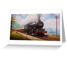 The Torbay Express Greeting Card
