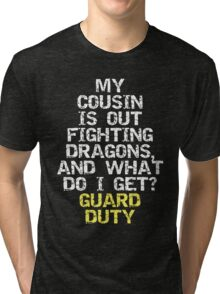 Guard Duty Tri-blend T-Shirt
