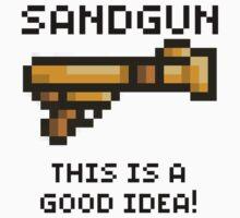Sandgun (Terraria) by Funkymunkey