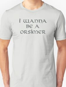 Orsimer Text Only Unisex T-Shirt